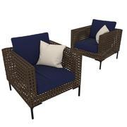 Charles b&b chair 3d model