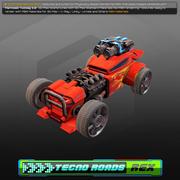 Tecno Roads - Rex 3d model