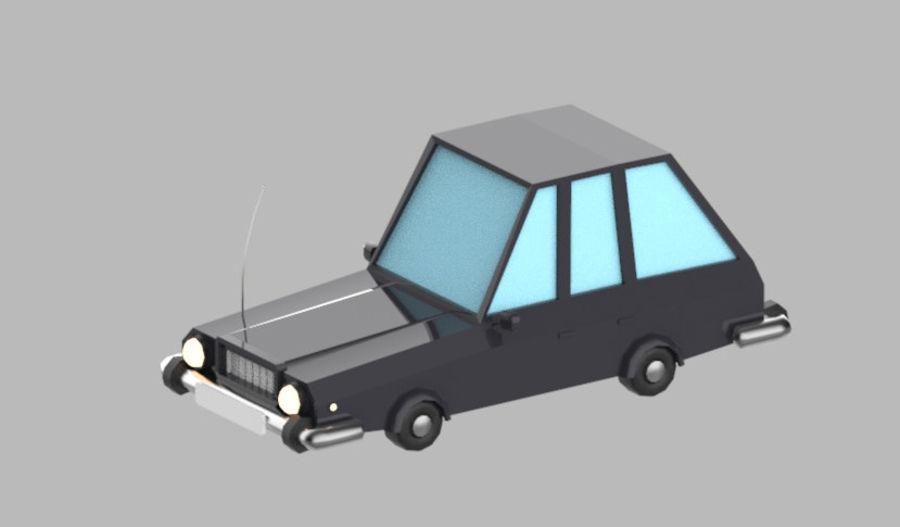 Veículos de baixo poli / Pack royalty-free 3d model - Preview no. 20