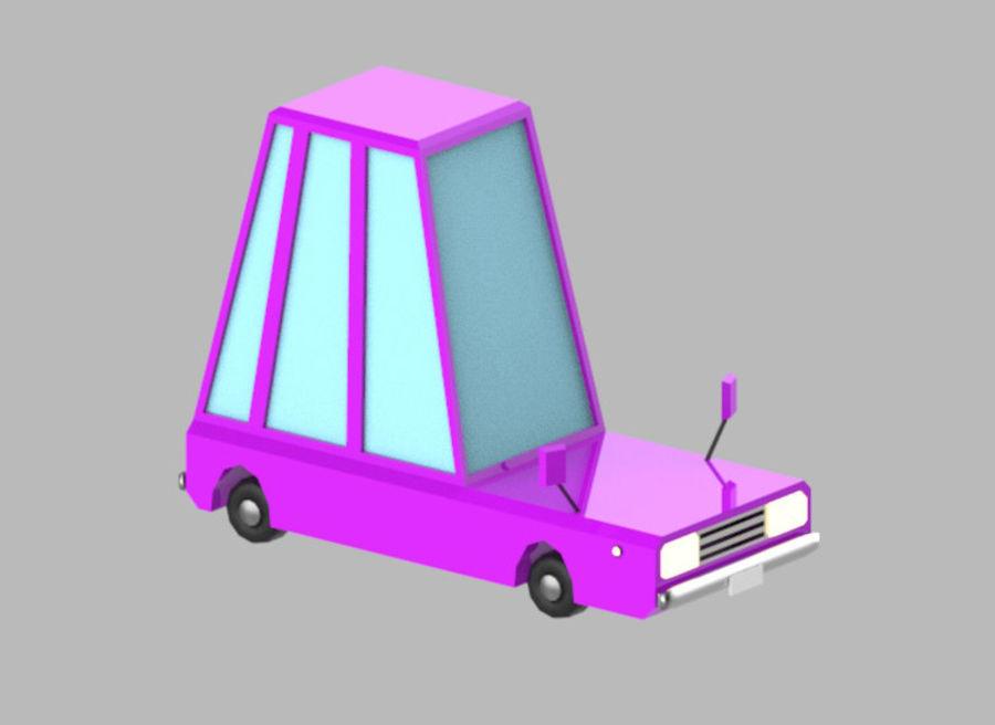 Veículos de baixo poli / Pack royalty-free 3d model - Preview no. 15