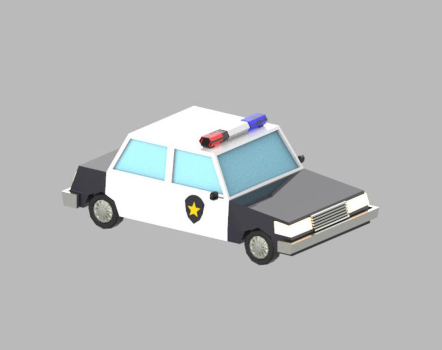 Veículos de baixo poli / Pack royalty-free 3d model - Preview no. 18