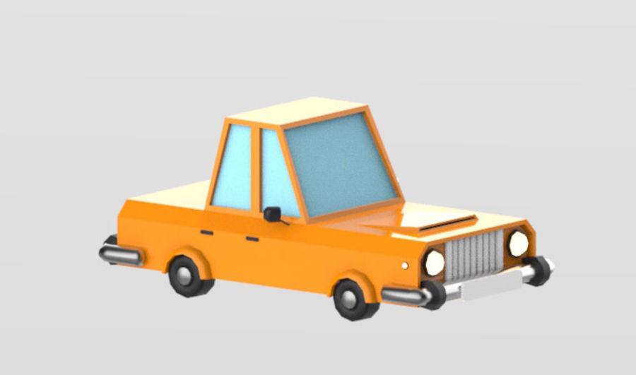 Veículos de baixo poli / Pack royalty-free 3d model - Preview no. 14