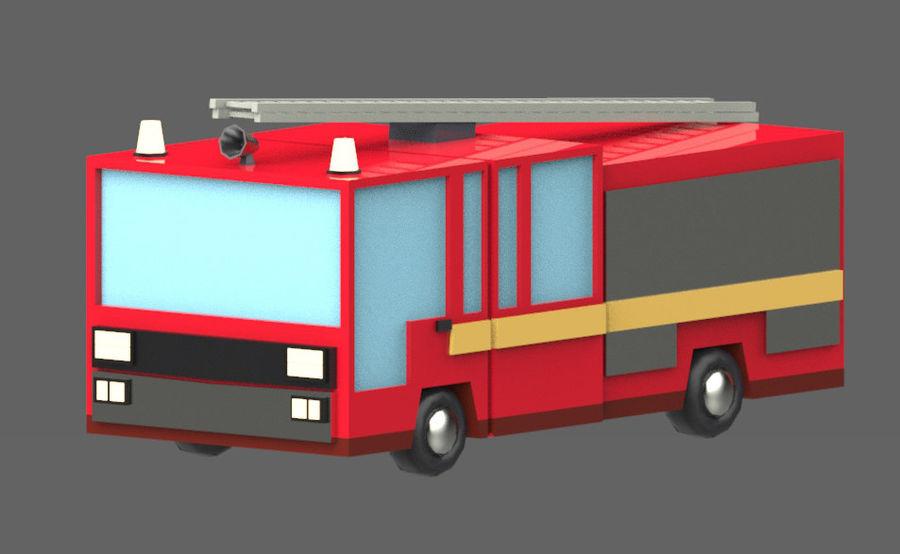 Veículos de baixo poli / Pack royalty-free 3d model - Preview no. 10