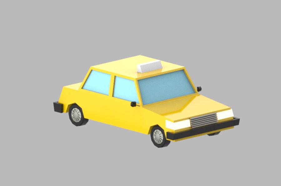 Veículos de baixo poli / Pack royalty-free 3d model - Preview no. 17