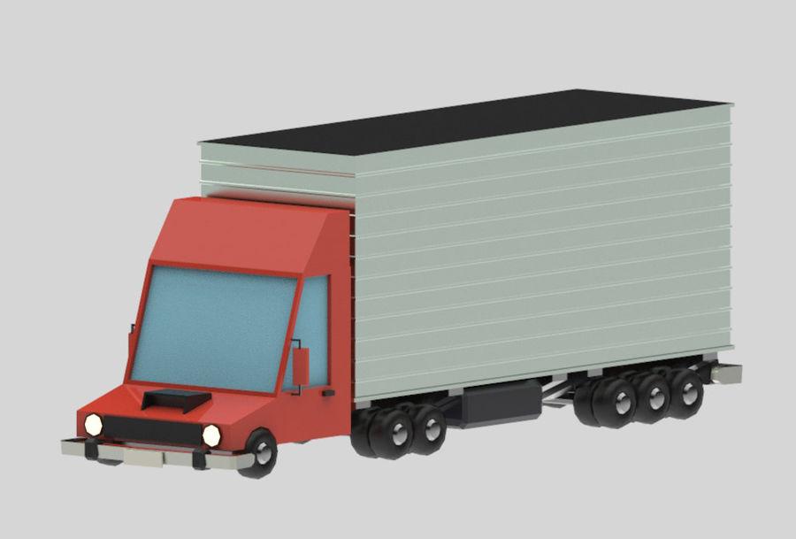 Veículos de baixo poli / Pack royalty-free 3d model - Preview no. 13