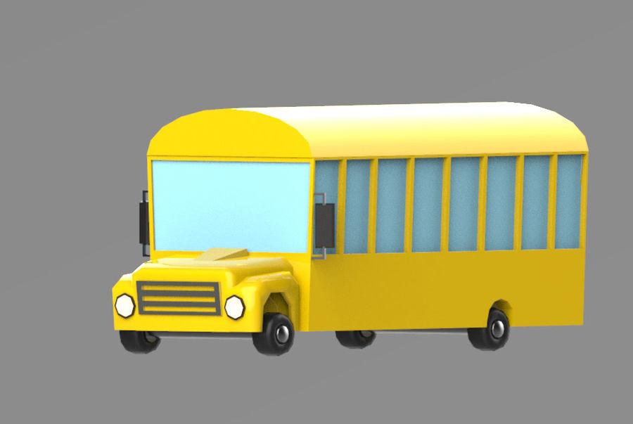 Veículos de baixo poli / Pack royalty-free 3d model - Preview no. 9