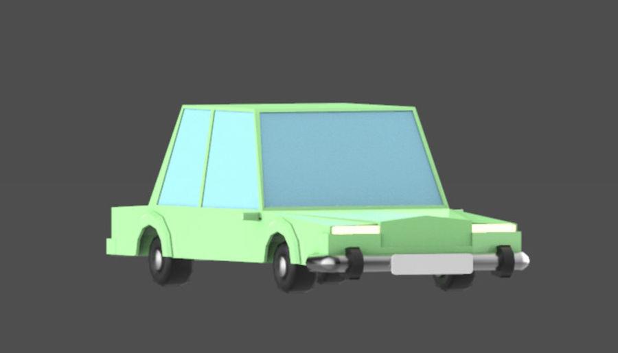 Veículos de baixo poli / Pack royalty-free 3d model - Preview no. 12