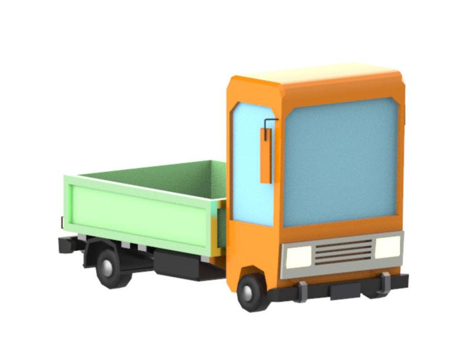 Veículos de baixo poli / Pack royalty-free 3d model - Preview no. 19