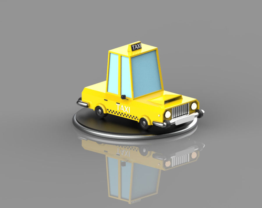 Veículos de baixo poli / Pack royalty-free 3d model - Preview no. 4