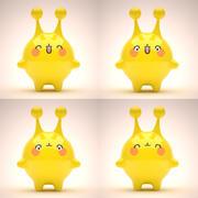 Mascot Set 01 3d model