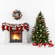 Noel ayarlamak 3d model