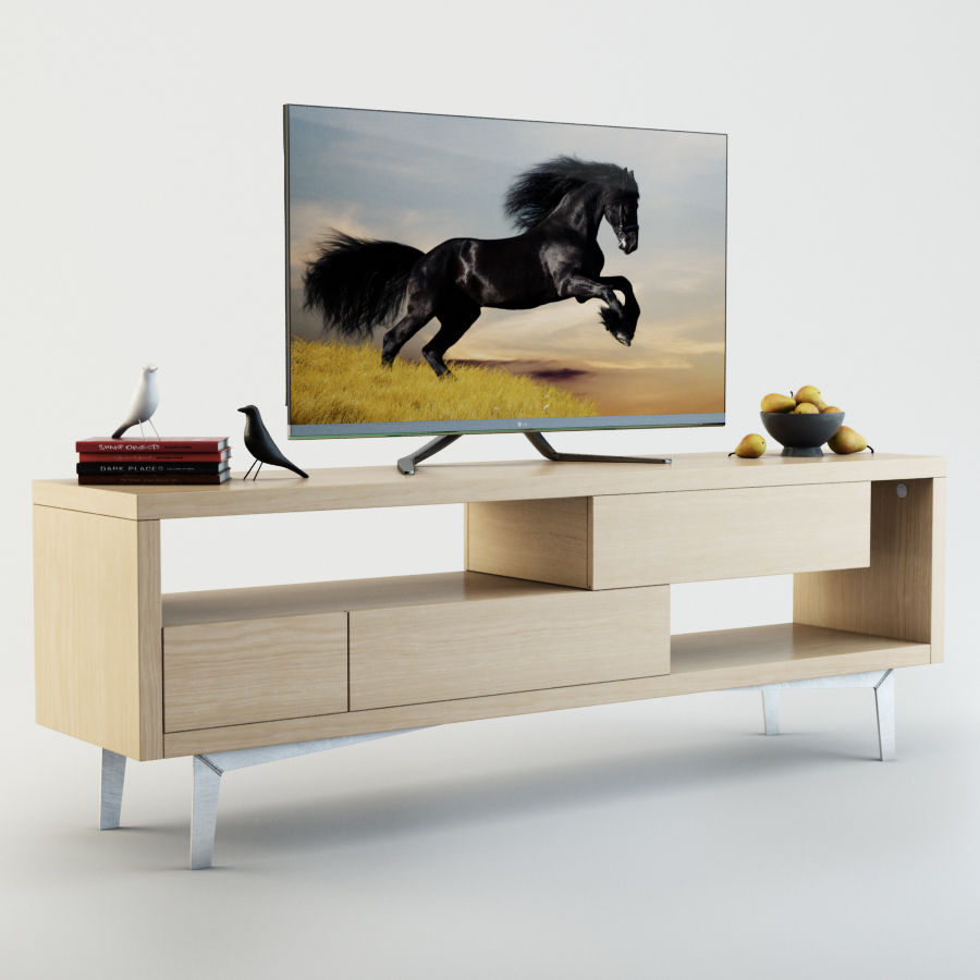 TV Furniture Tango royalty-free 3d model - Preview no. 3