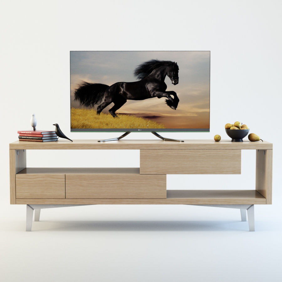 TV Furniture Tango royalty-free 3d model - Preview no. 1