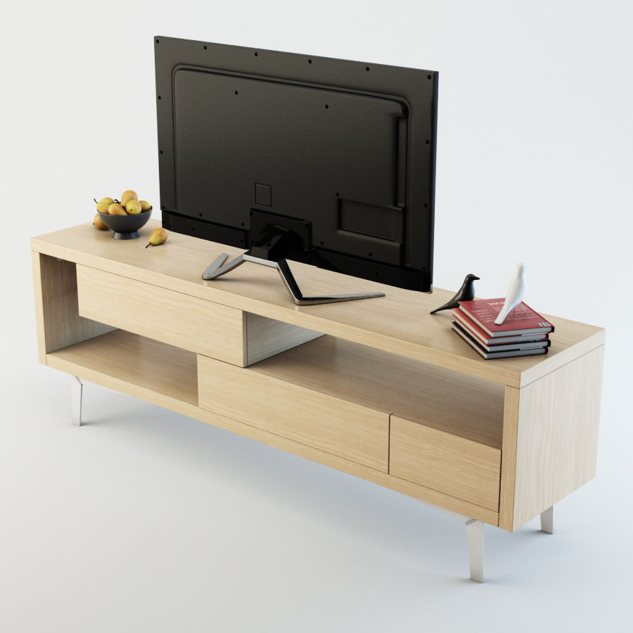 TV Furniture Tango royalty-free 3d model - Preview no. 5