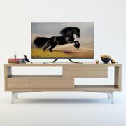 テレビ家具タンゴ 3d model