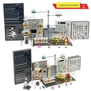medizinisches Labor 4 3d model