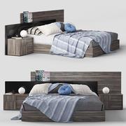 床状态Futura 3d model