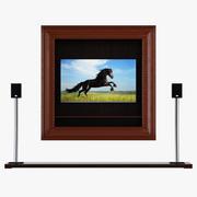 テレビ家具カサブランカ 3d model