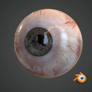 Ojo humano realista modelo 3d
