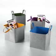 CALLIGARIS Elliott Storage Basket 3d model