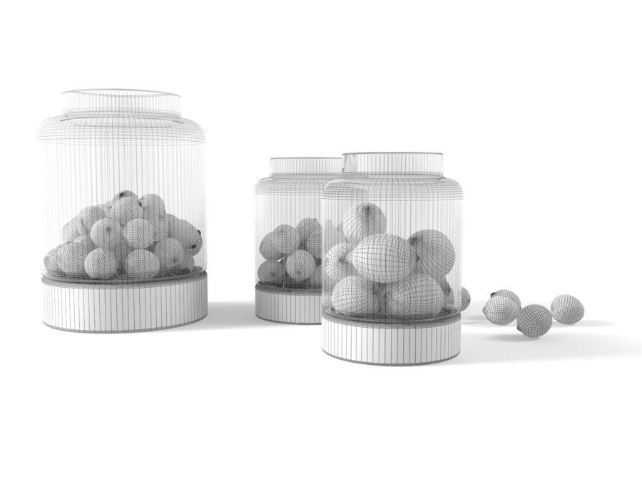 Limoenen en citroenen royalty-free 3d model - Preview no. 4