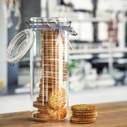 Jar of Sandwich Biscuits 3d model