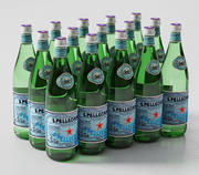 SAN PELLEGRINO Bottles 750 ml 3d model