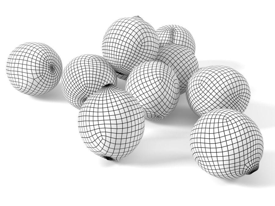 Zitronen royalty-free 3d model - Preview no. 2