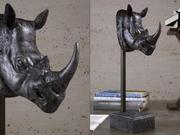 Dino Die Nashornskulptur 3d model
