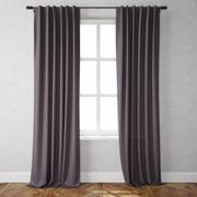 Cotton Canvas Curtains 3d model