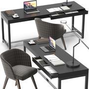 Cadeira Fulton Creed 3d model