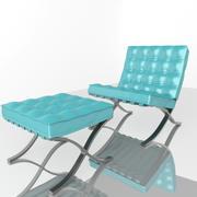 barcelona sandalye 3d model