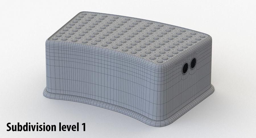 Cadeira de criança royalty-free 3d model - Preview no. 11