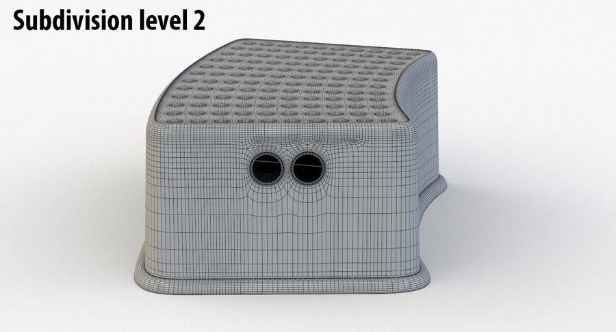 Cadeira de criança royalty-free 3d model - Preview no. 14