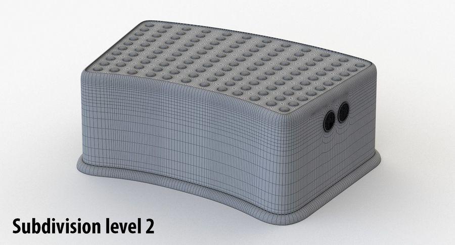 Cadeira de criança royalty-free 3d model - Preview no. 13