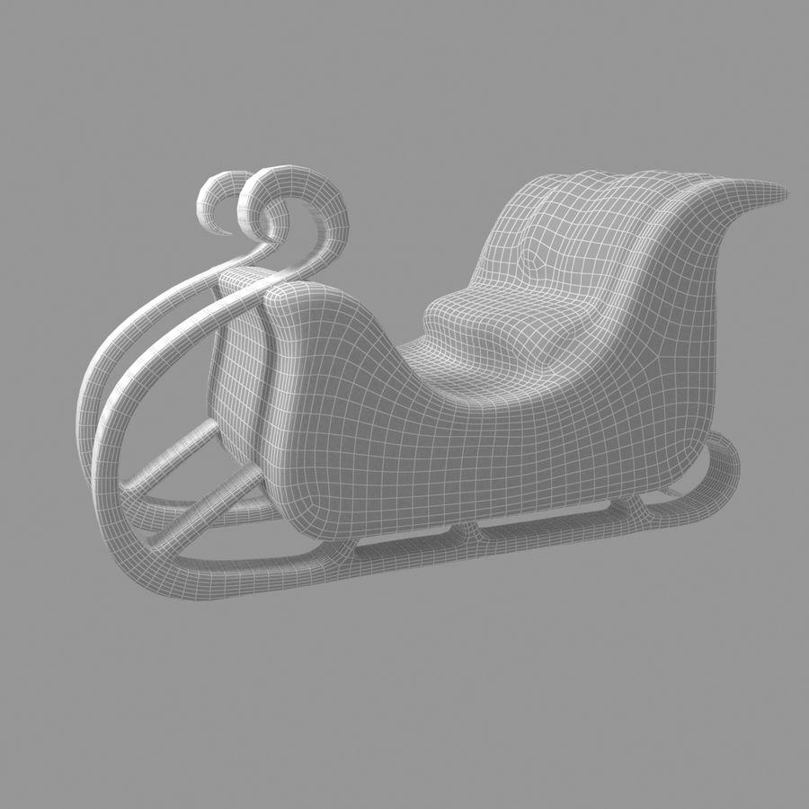 Trineo de santa royalty-free modelo 3d - Preview no. 6