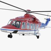 Agusta Westland AW189 3d model