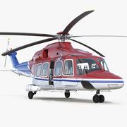 Agusta Westland AW189 manipuliert 3d model