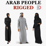 Arab People Collection 2 manipuliert 3d model