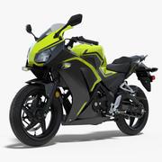 Lichtgewicht generiek motorfiets 3d model