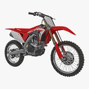 Competition Motorcycle Honda CRF250R 2018 3d model