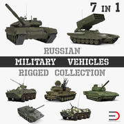 Arma Rus Askeri Araçları 3D Model Koleksiyonu 3d model