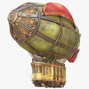 Airship Fighting 3d model