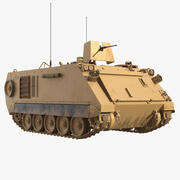 Armoured Personnel Carrier M113A3 3d model