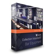 Modele CGAxis Pojemność 87 Bar Wyposażenie Corona 3d model