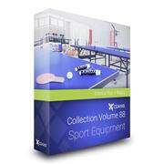 Équipement de sport Collection Modèles 3D Volume 88 Mental Ray 3d model