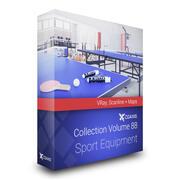 Équipement de sport Collection Modèles 3D Volume 88 VRay 3d model