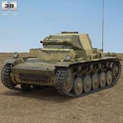 装甲二世 3d model