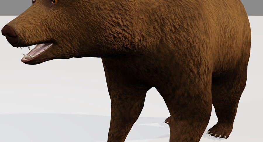 게임 준비가 된 곰 royalty-free 3d model - Preview no. 5