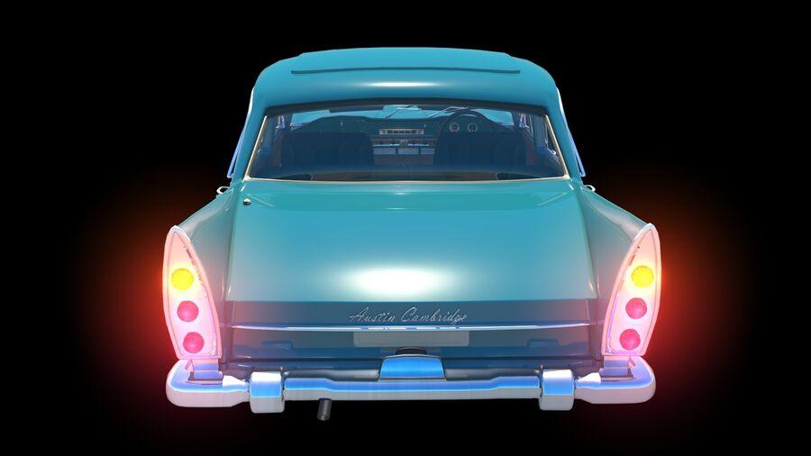 car austin cambridge 1970 royalty-free 3d model - Preview no. 6